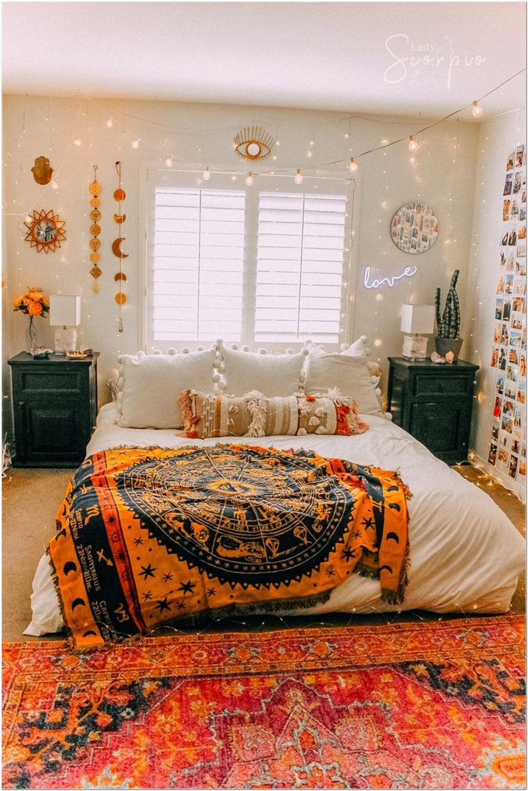 78+ modern bohemian bedroom decor ideas 1 in 2020 (With ... on Modern Bohemian Bedroom Decor  id=16083