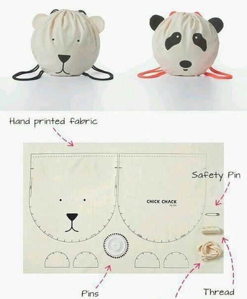 diy and panda resmi | dikissss | Pinterest | Geschenke für kinder ...