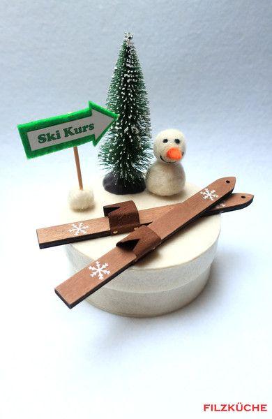 Geschenke Fur Manner Ski Winter Urlaub Geldgeschenke Verpacken