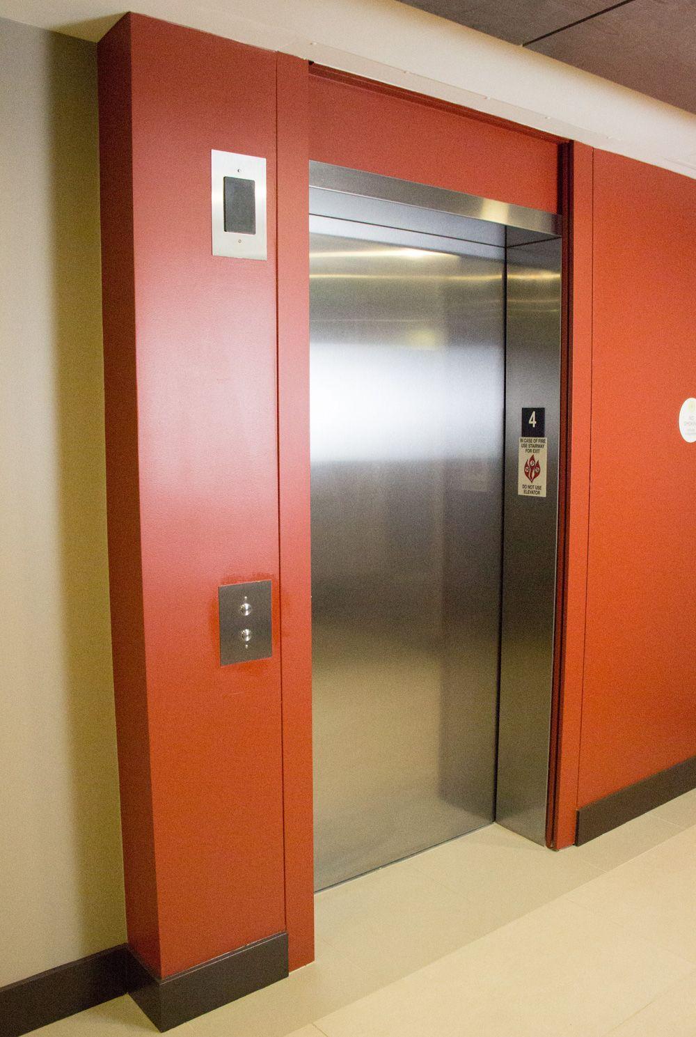 Door Systems Elevator Smoke Containment System Locker Storage