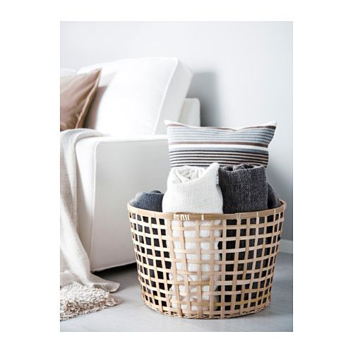 IKEA GADDIS Basket Each Basket Is Woven By Hand And Is Therefore Unique.