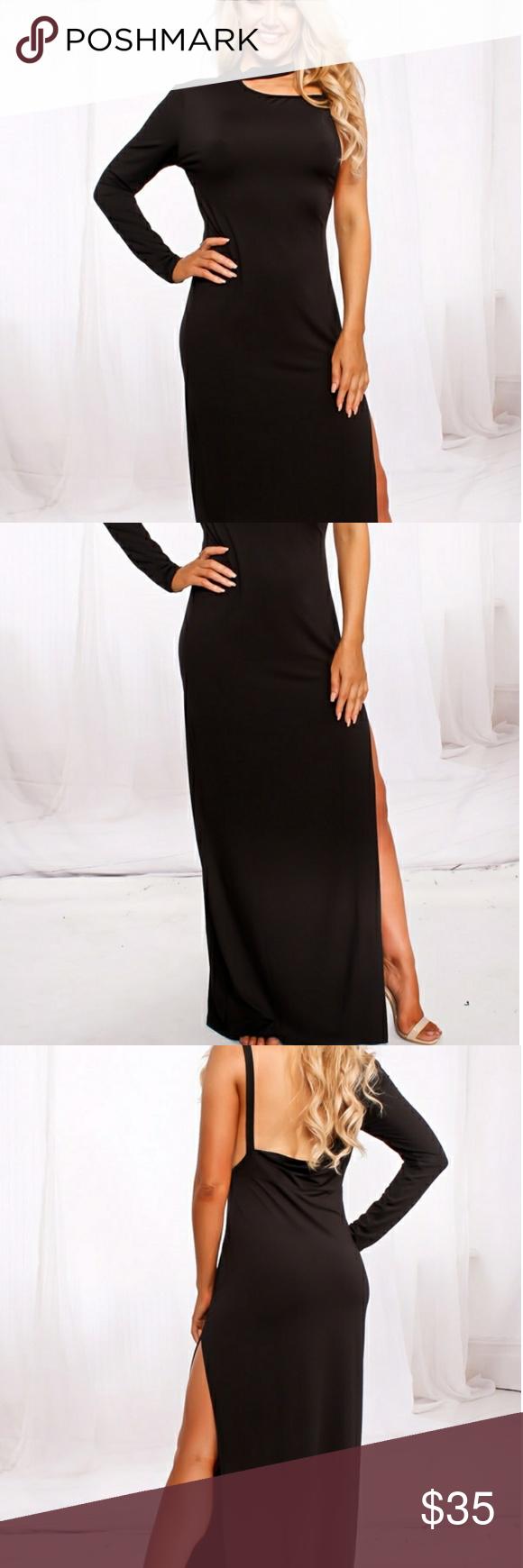 Single long sleeve maxi dress boutique long sleeve maxi
