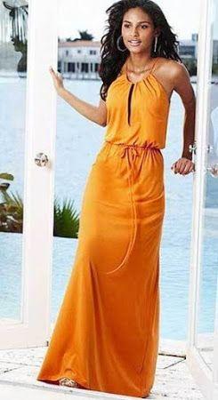 maxi sundress pattern wtih drawstring halter top, zero waste.