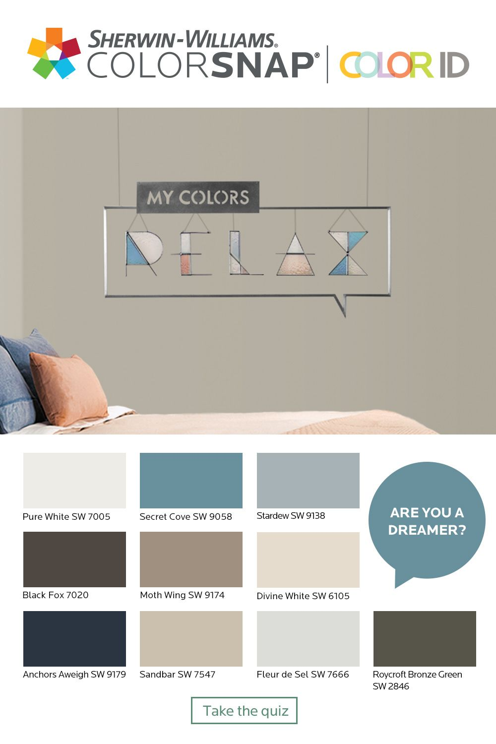 What S Your Color Id Take The Quiz To Find A Color Palette That Match Paint Colors For Living Room Interior Paint Colors For Living Room Paint Colors For Home