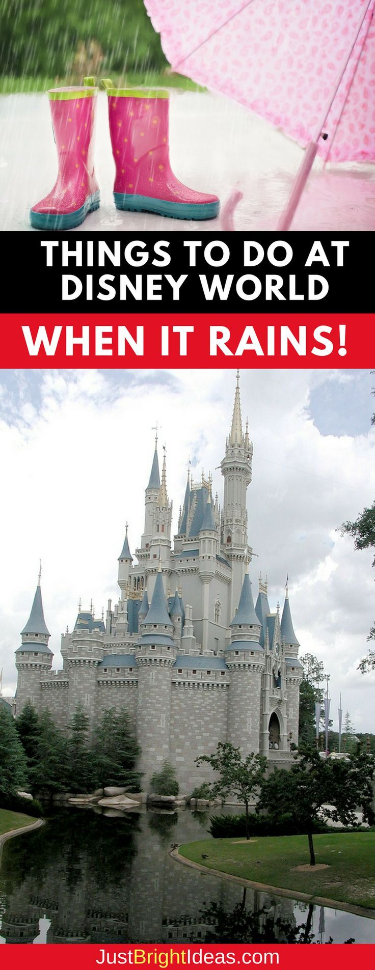 what to do at disney world if it rains