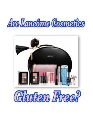 Are Lancôme Cosmetics Gluten Free? A List of Gluten Free ...