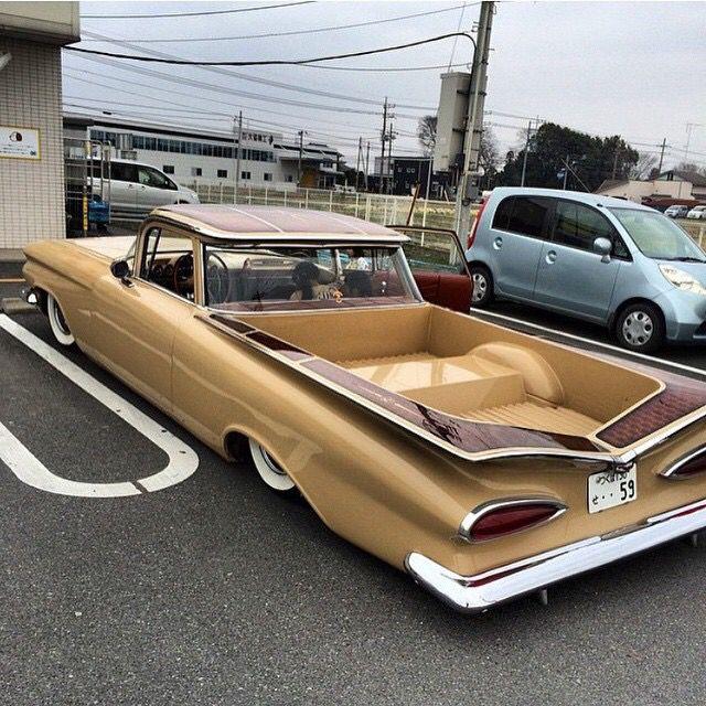 1959 El Camino From Japan Chevrolet El Camino Coches Clasicos