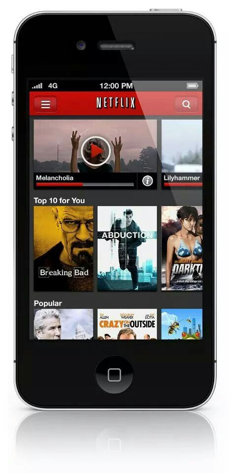 Netflix (iPhone) Kindle fire apps, Best kindle, Netflix app