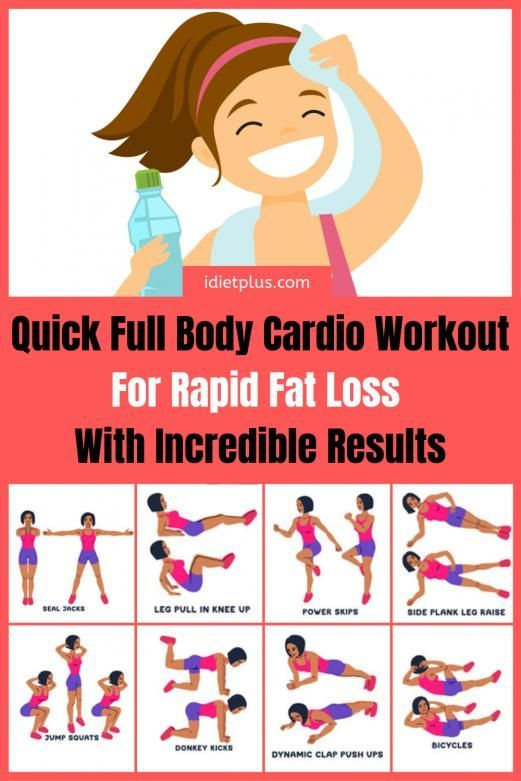 .Full cardio body burn at home or at the gym for men and ...