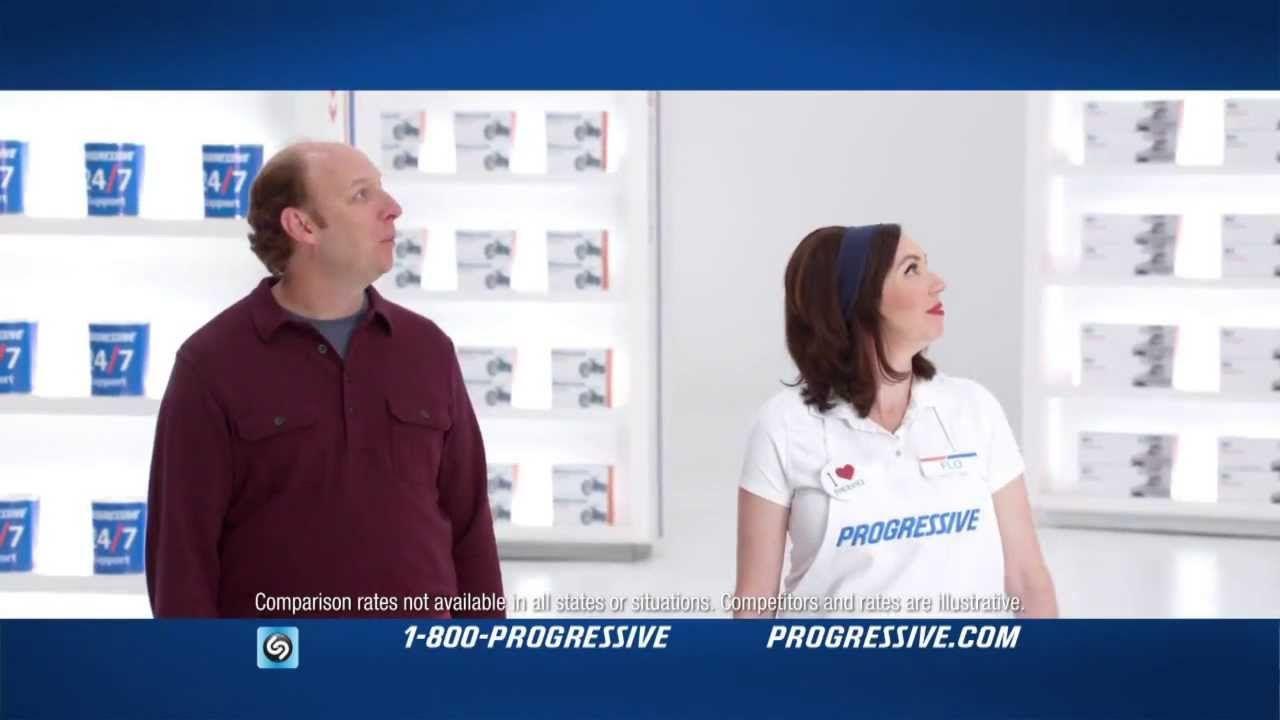 Gravity Progressive Insurance Commercial Playlist Progress