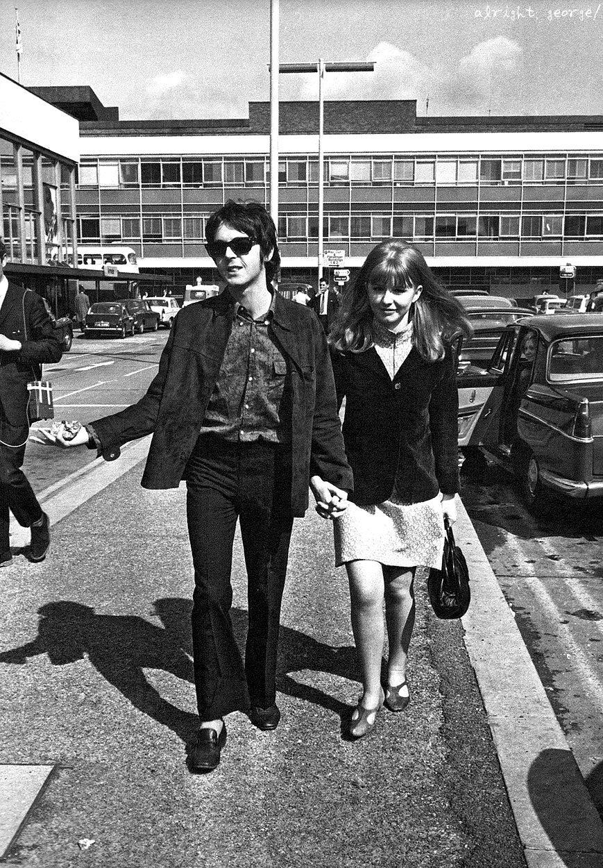 alrightgeorge:  Paul & Jane, 1967
