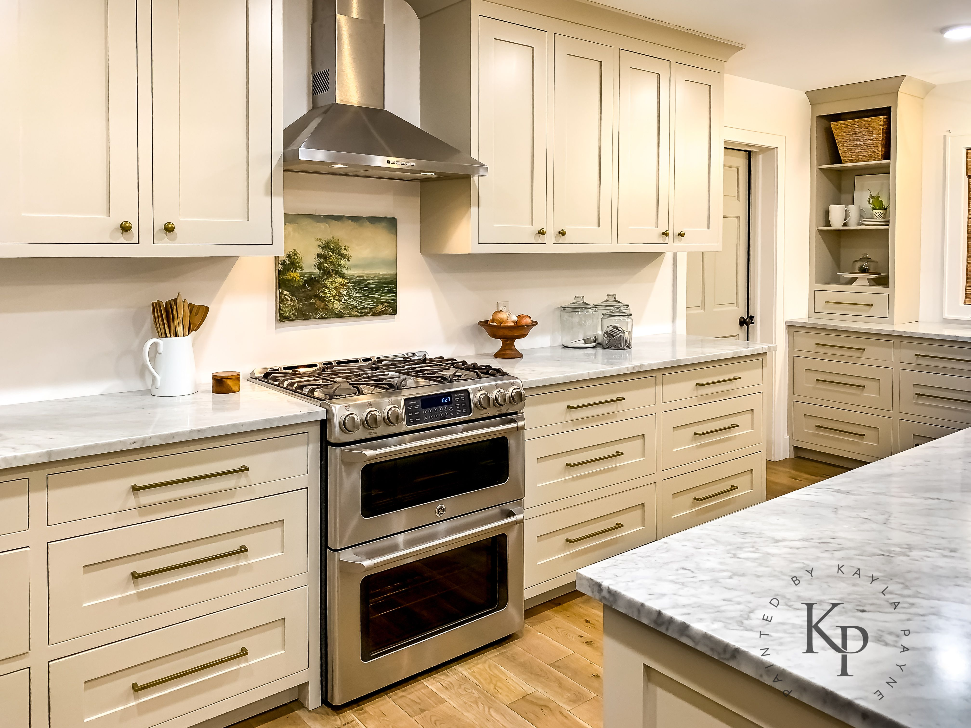 Revere Pewter Kitchen Cabinets Painted By Kayla Payne Revere Pewter Kitchen Painting Kitchen Cabinets Kitchen Cabinets