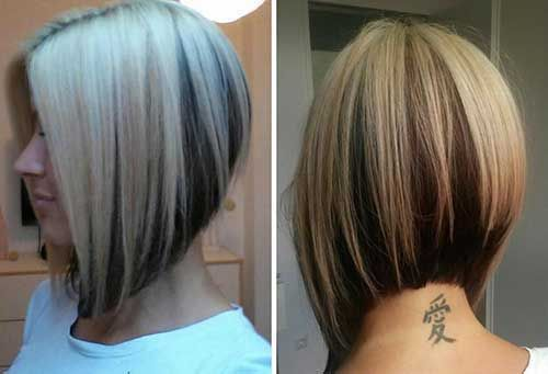 20 Inverted Bob Hairstyles Short Hairstyles 2015 2016 Most Popular Short Hairstyles For 2016 Bob Frisur Haarschnitt Bob Kurzhaarfrisuren