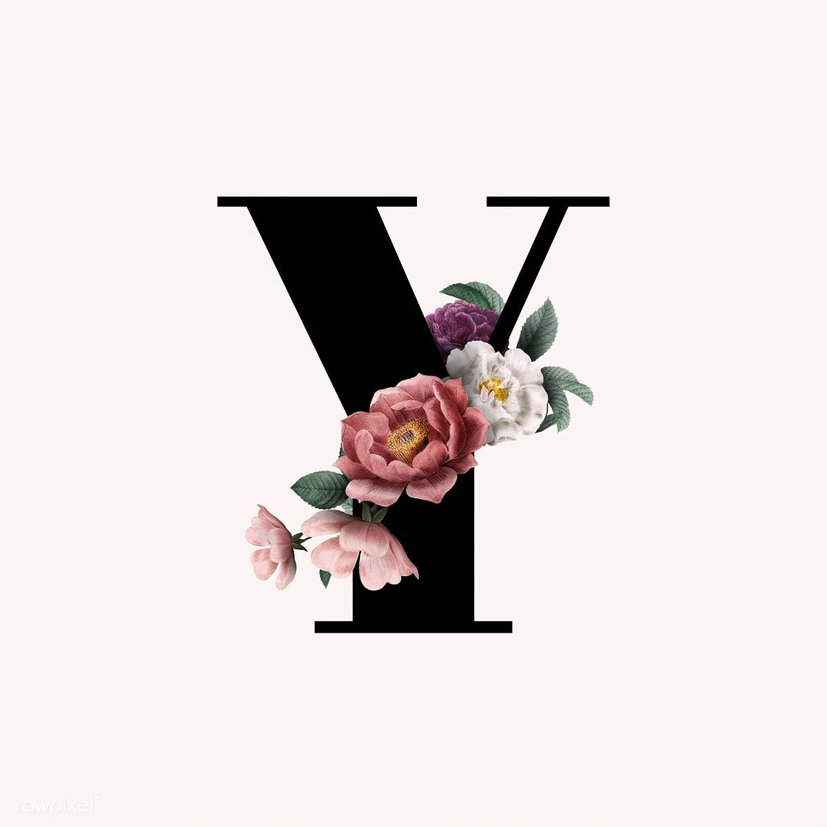 Classic And Elegant Floral Alphabet Font Letter Y Vector Free Image By Rawpixel Com Manotang Lettering Alphabet Fonts Lettering Fonts Fonts Alphabet