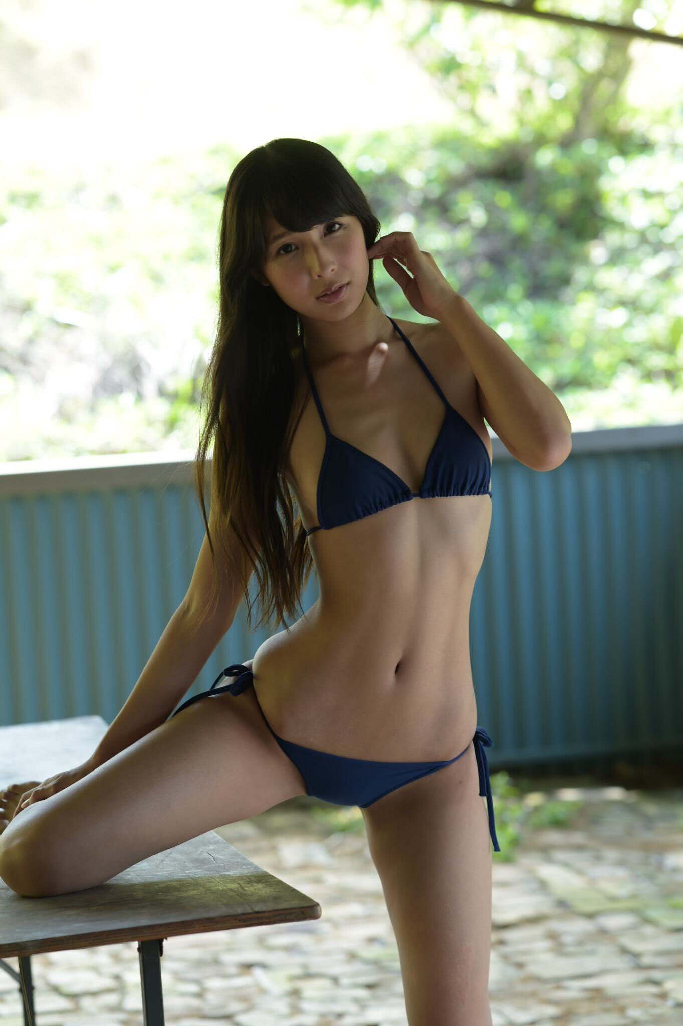 Aya Kawasaki Blue Lingerie, Japanese Rope, Cute Girls, Asian Girl, Blog,