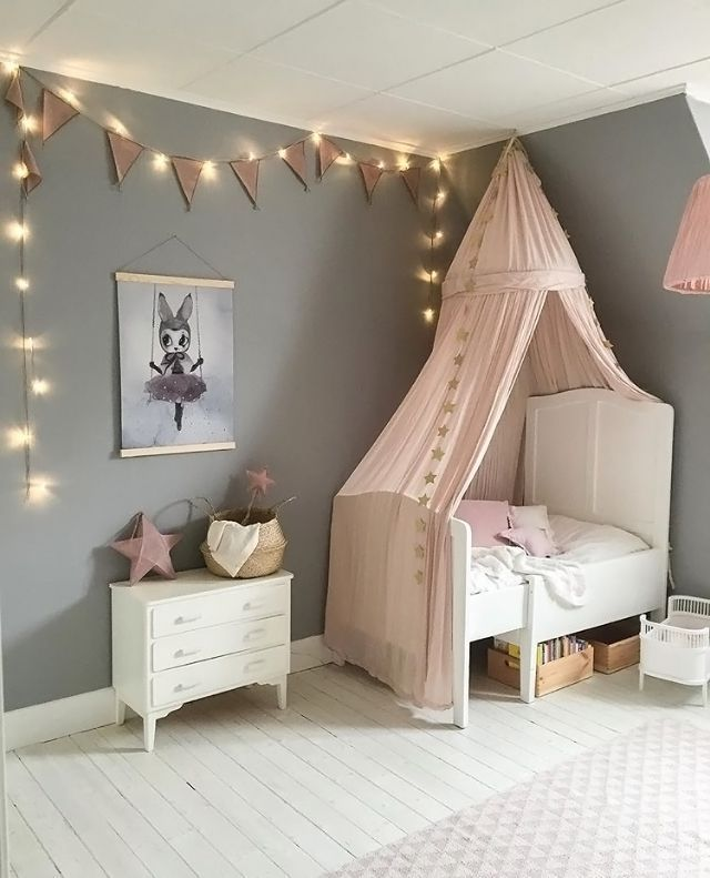 Interior Design Elegant Pink White Gray Baby Girl Room: 18 Luxurious Pink Gray Nursery Room