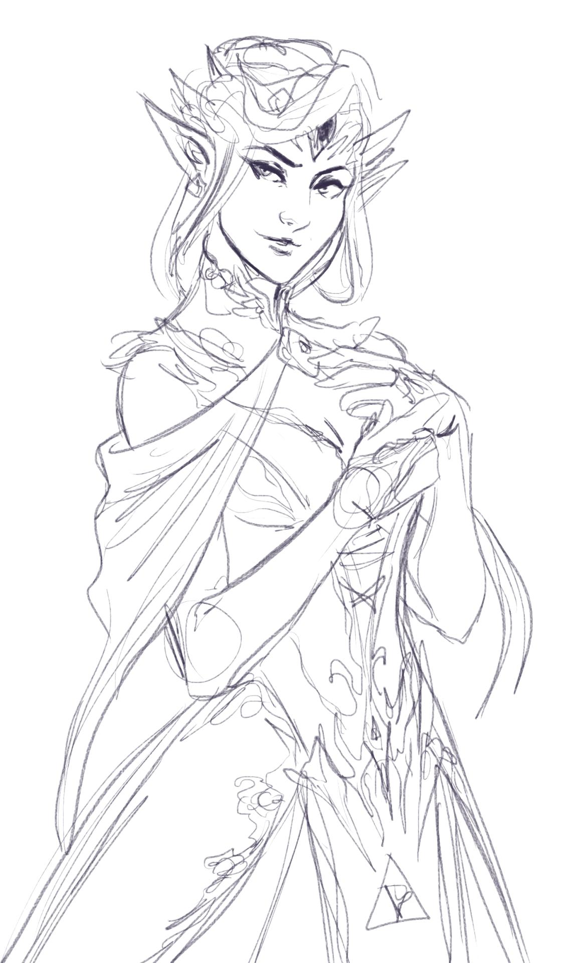 Zelda wedding dress  shoutout to everyone who linked me to the Zelda Inspired Wedding