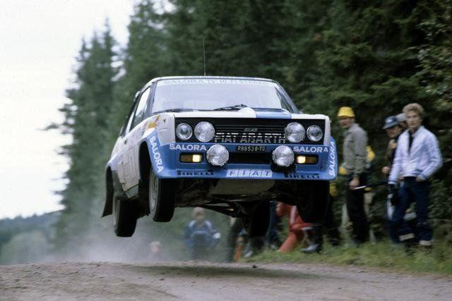 FIAT 131 Abarth rally car