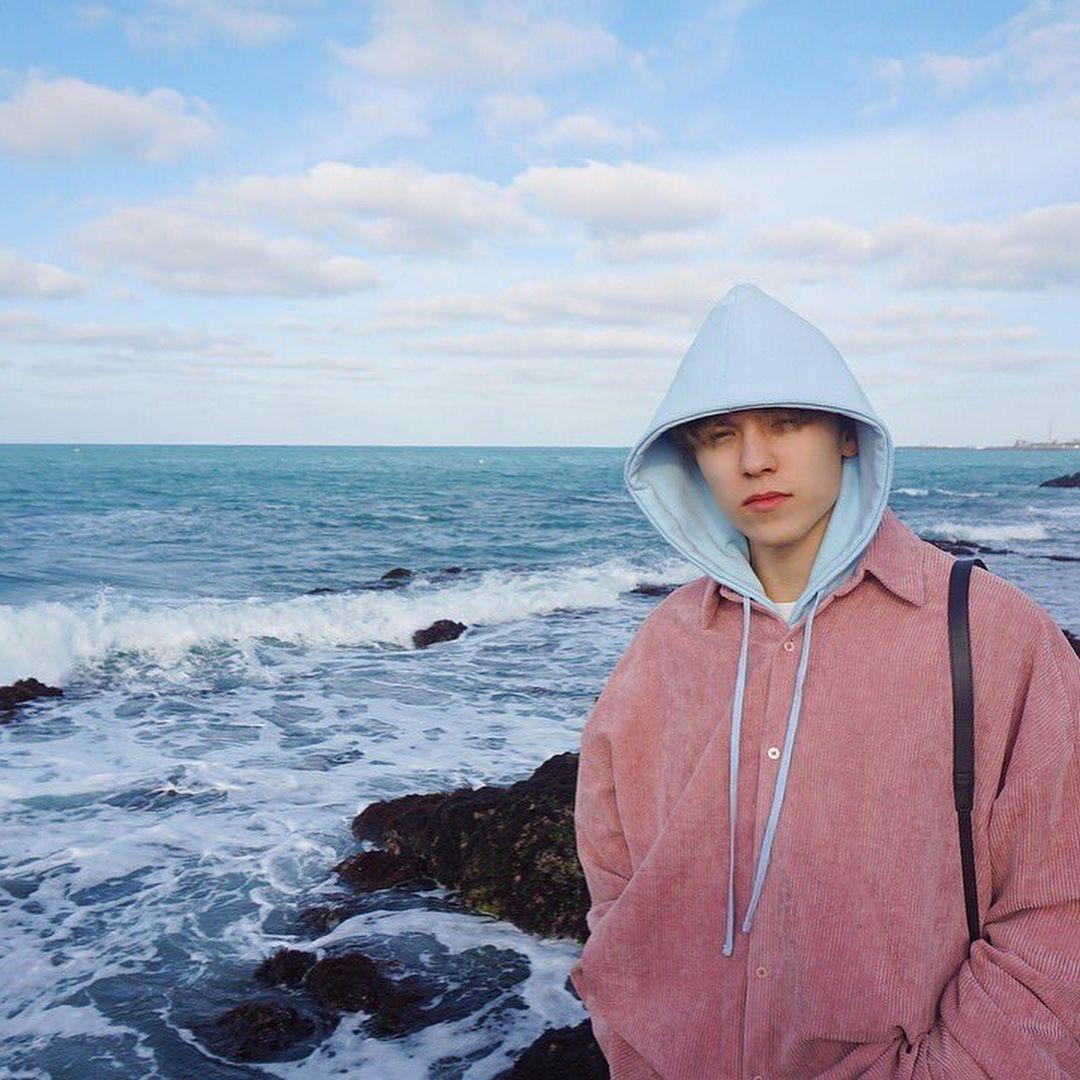 Seventeen's Vernon 버논さんはInstagramを利用しています:「Hansol + pink = my fav outfit 💗💕」