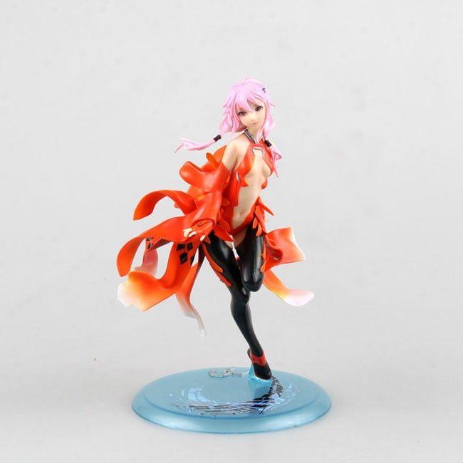 Anime Guilty Crown Inori Yuzuriha PVC Figure New No Box 17cm