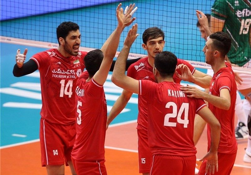 Iran Eased Past Bulgaria In The 2019 Men S Volleyball Nations League Vnl On Saturday Igor Kolakovic Fielded Iran With Images Volleyball League Mens Volleyball