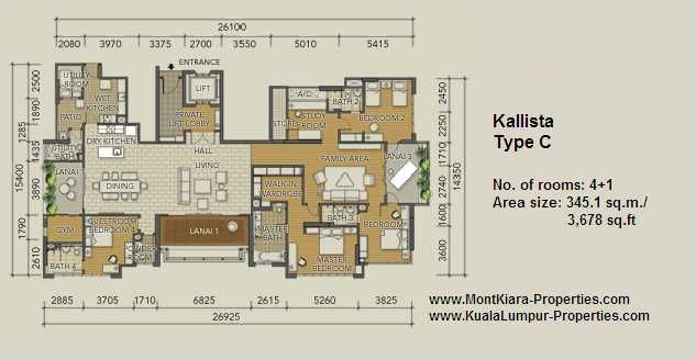 Tiffani Mont Kiara Floor Plan Google Search Floor Plans Mont Kiara How To Plan