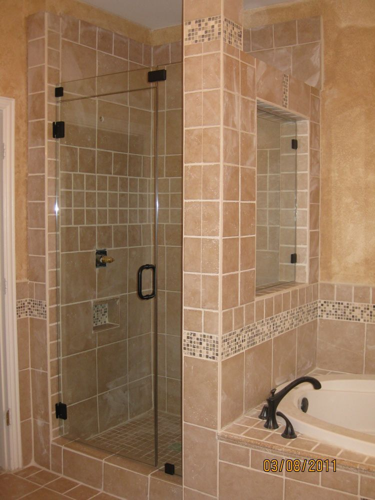 Imperial shower doors frameless glass shower doors glass for Cool shower door ideas