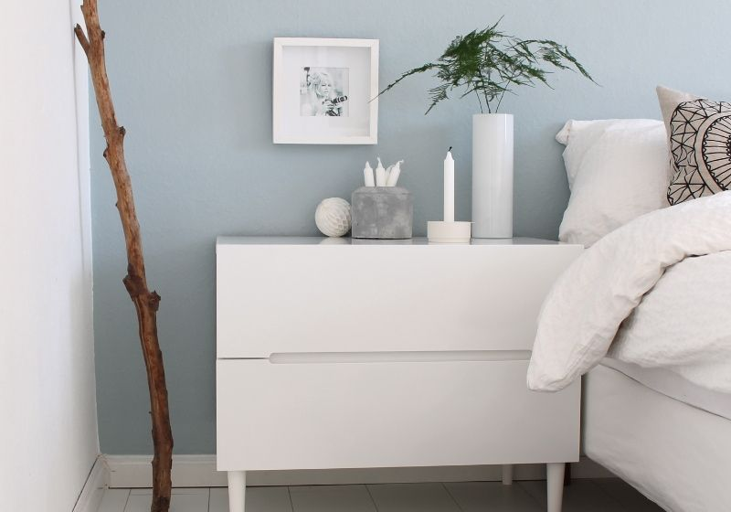 Schlafzimmer: Ideen zum Einrichten & Gestalten | Hellblaue ...