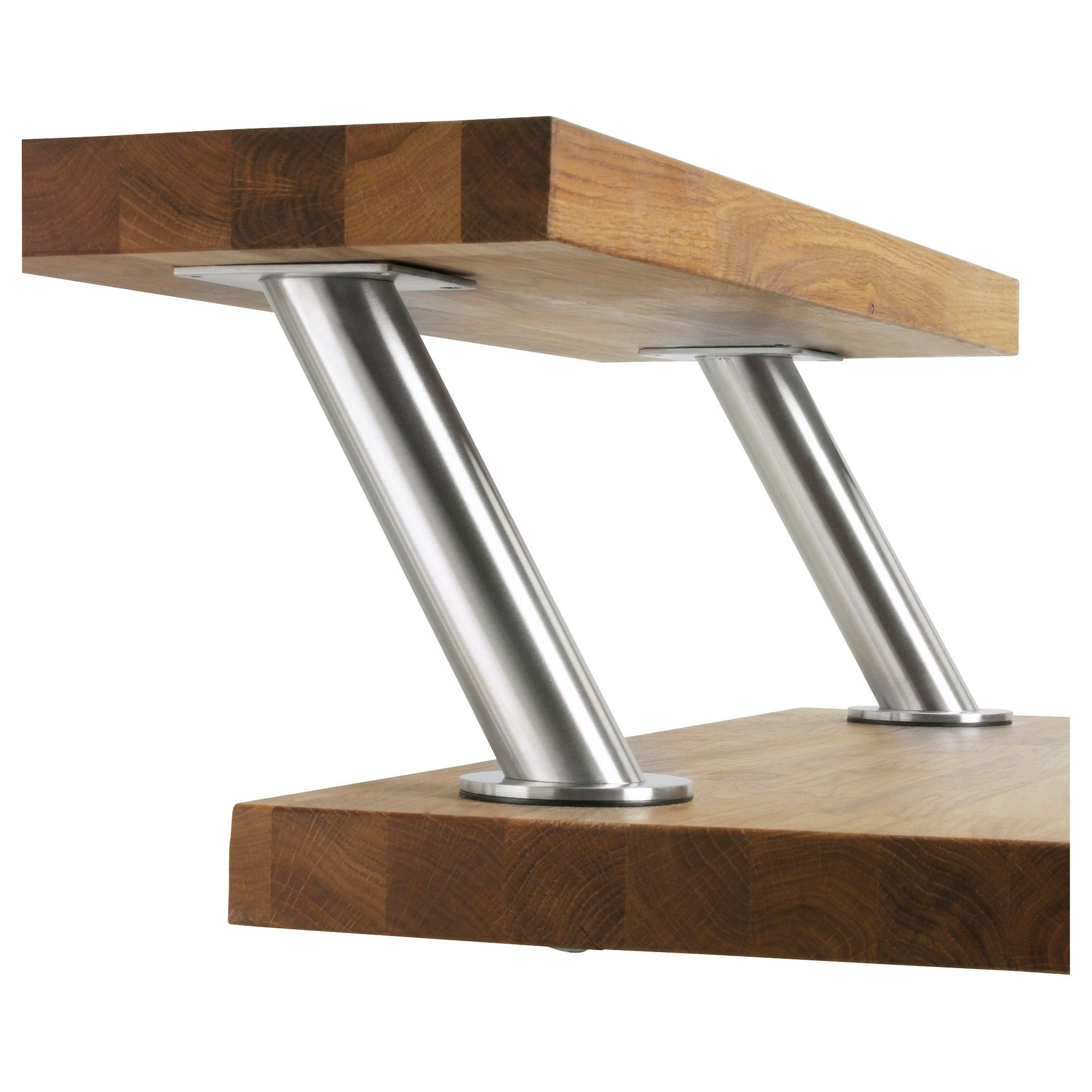 Tavolino Che Diventa Tavolo Ikea tavolo acciaio inox ikea