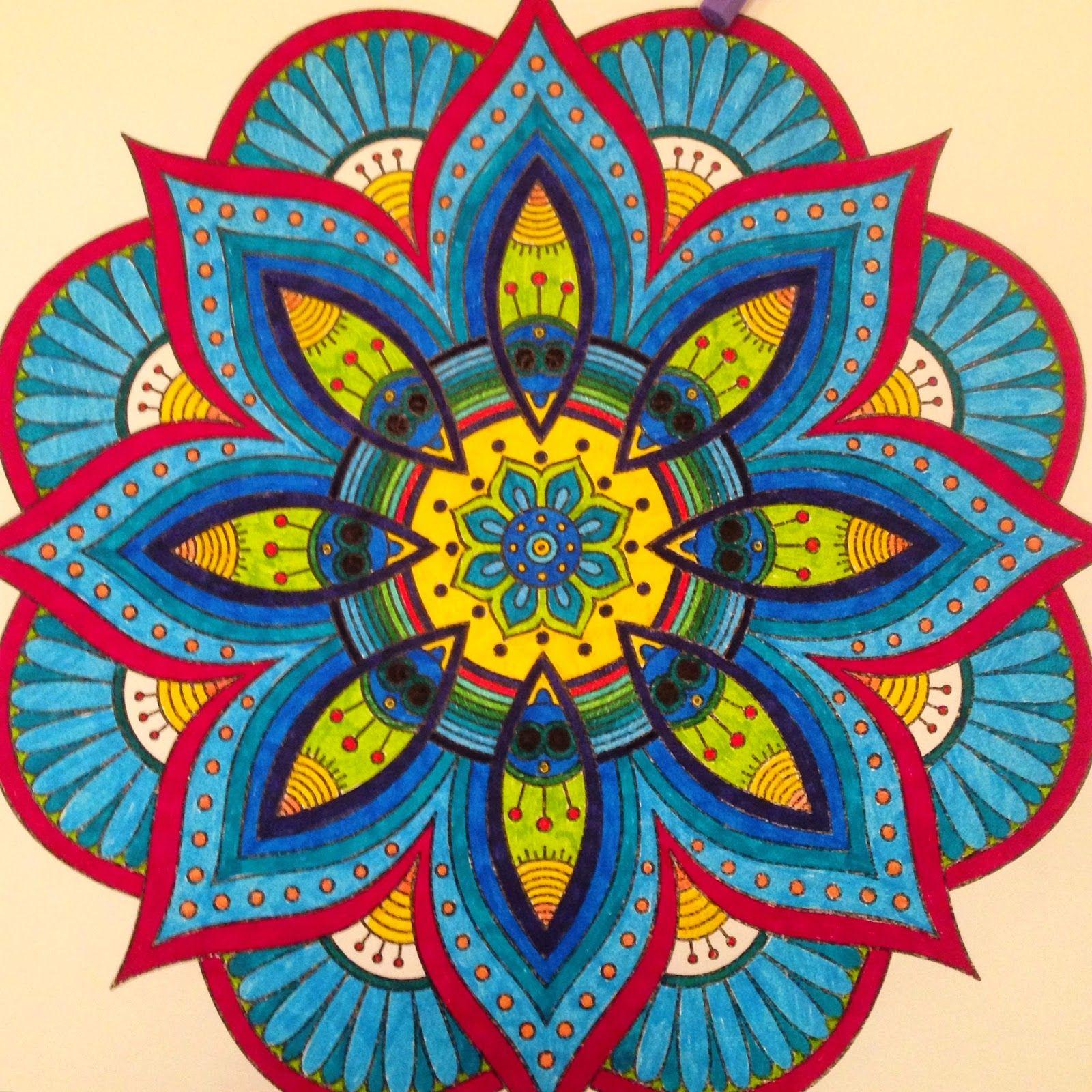 Resultado De Imagem Para Mandalas Coloridas Desenhos De Mandalas