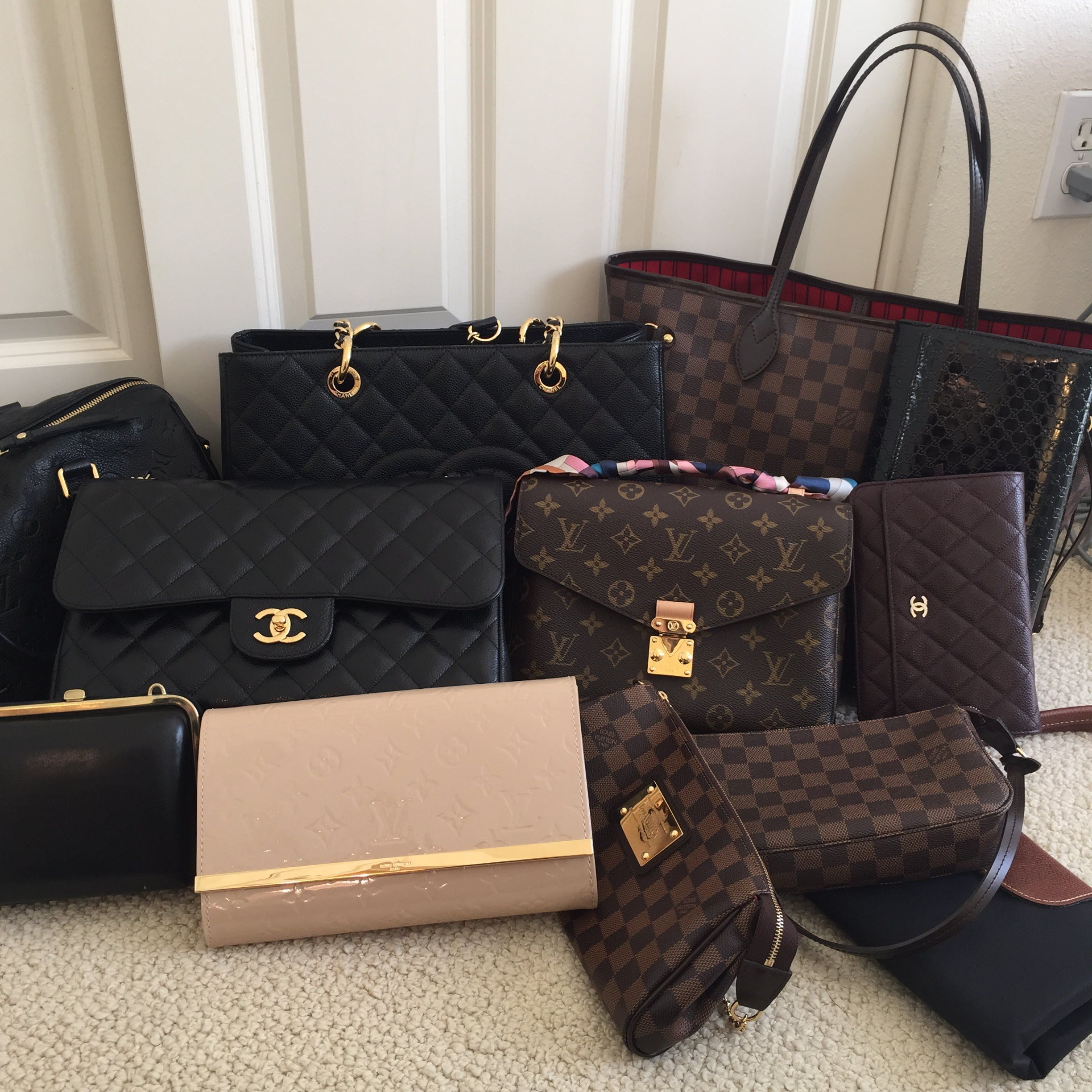 Thank You So Much For Watching My Handbag Collection Video Details On The Handbags Shown Are Below Please Let Me Know If Have Any Other Qu