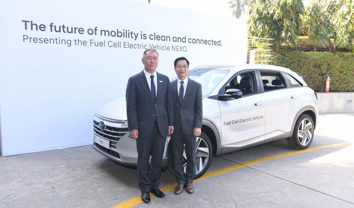 Hyundai showcases its technological flagship model, the