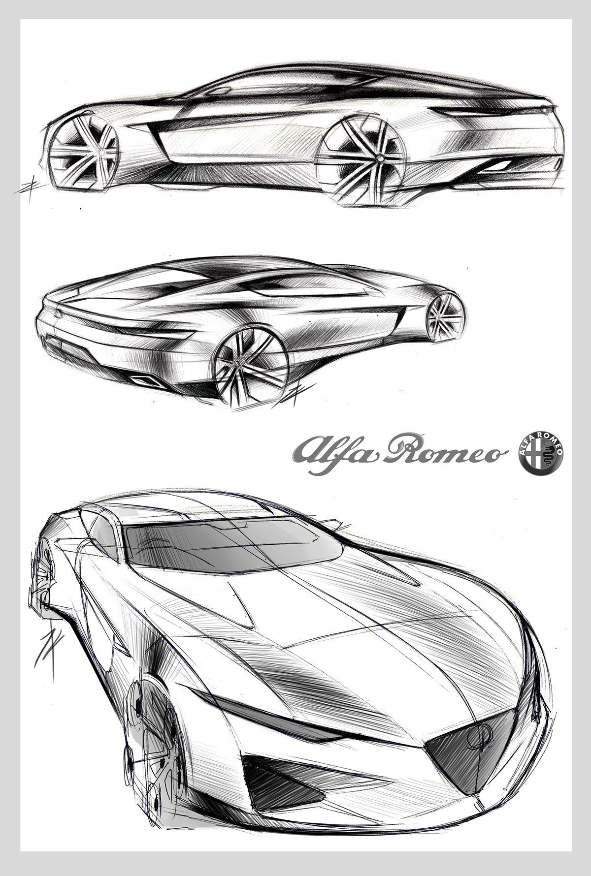 Sketch to Model on Behance | Sketching | Pinterest | Skizzen design ...