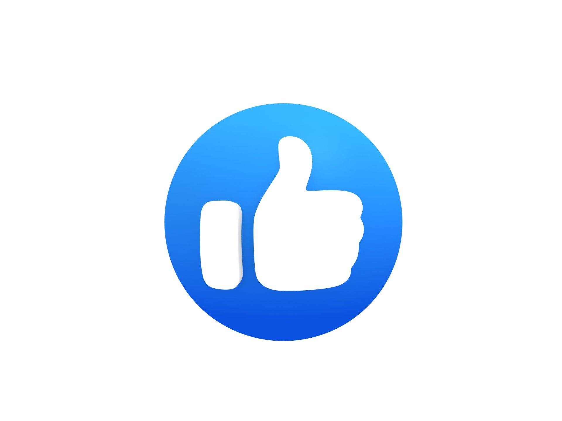 Animated Facebook Like Button Youtube Logo Video Marketing