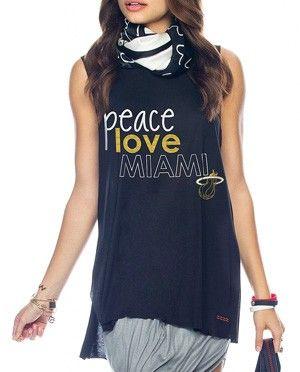 Peace Love Worldmi Heat Ladies Sleeveless Lunes Tee Price