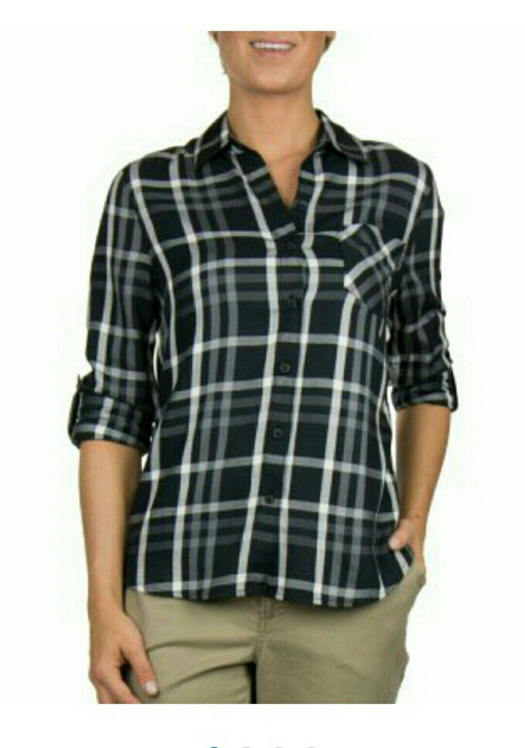 Flannel shirt women  Samus Club mmsclubipladieslightweightplaidshirt