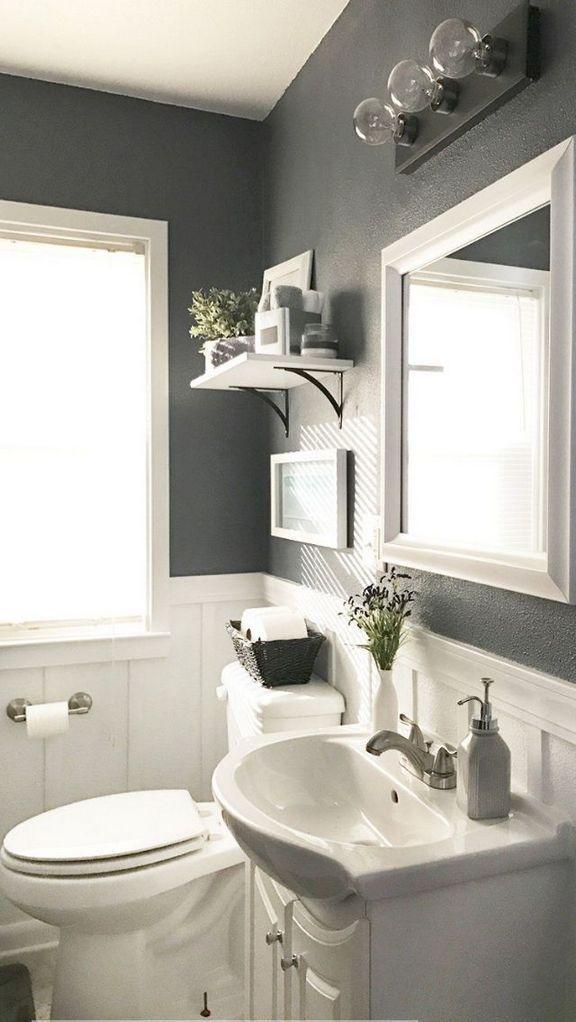 36 who is talking about small half bathroom ideas on a - Half bath ideas on a budget ...