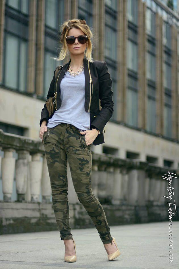 426f0462577b3 Army Green Camo Jeans | Layin it Back | Fashion, Camouflage fashion ...