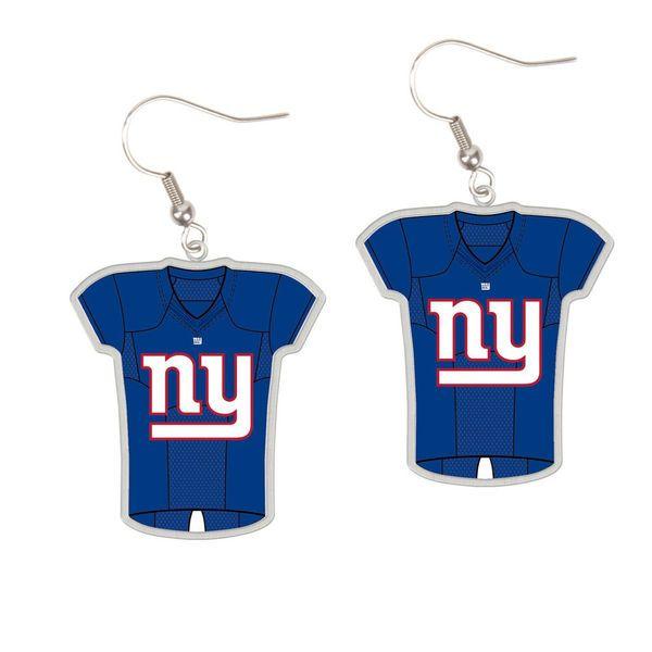 New York Giants WinCraft Women's Jersey Dangle Earrings - $8.99