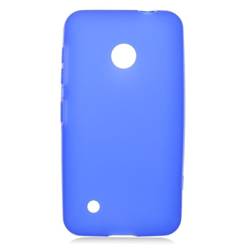 Insten TPU Rubber Candy Skin Case Cover For Nokia Lumia 530 #2221161