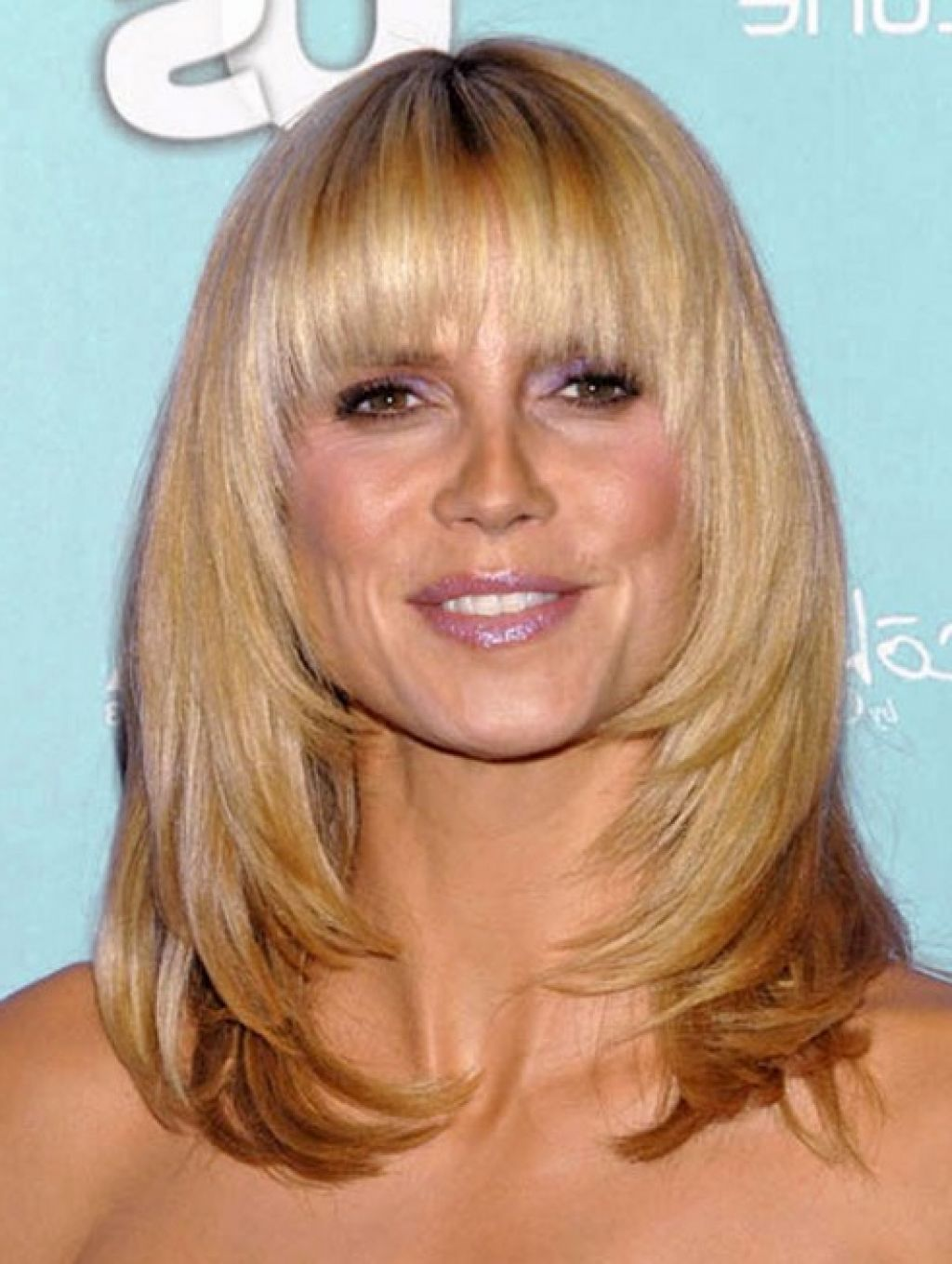 Shoulder Length Hairstyles With Bangs Hairstyles 4 Me