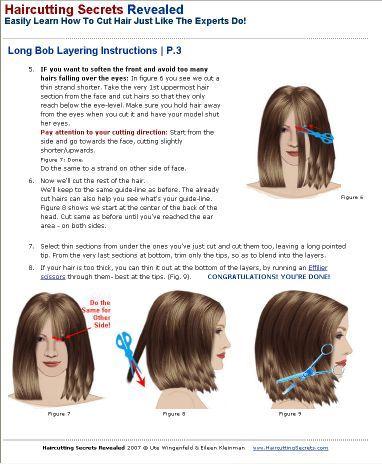Diy haircut short layers the best haircut of 2018 how to cut a long bob haircut yourself haircuts gallery diy haircut 1 long layers solutioingenieria Images