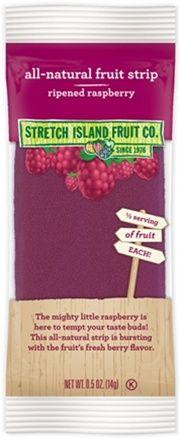 Stretch Island Fruit Ripened Raspberry Fruit Leather