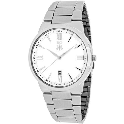 Jivago Men's Clarity Quartz Silver Band Silver Dial