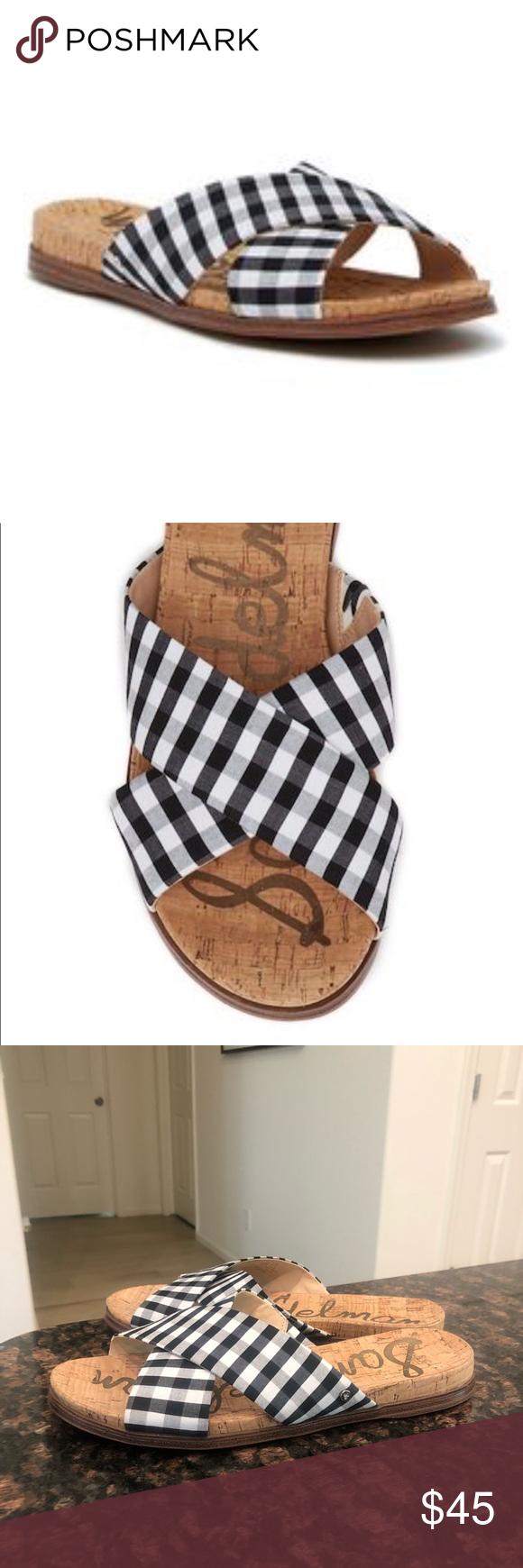 cc2fb0c00802 NEW Sam Edelman Hattie Criss-Cross Slide Sandals NEW Sam Edelman Hattie  Criss-Cross Slide Sandals. Size 7.5. Sam Edelman Shoes Sandals