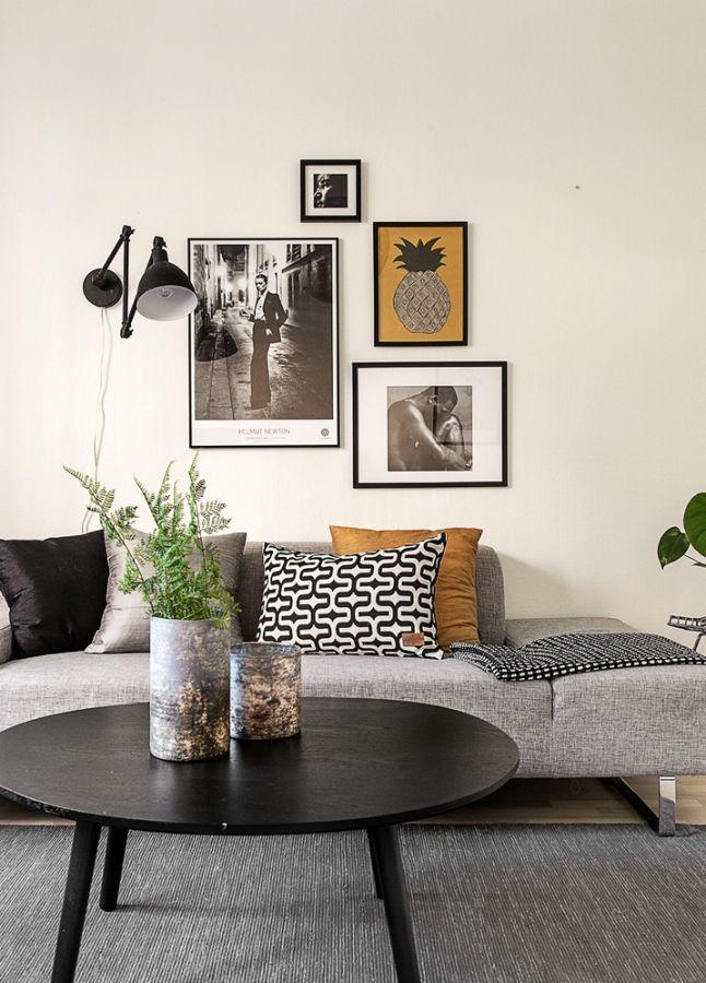 Inspiration déco pour un petit salon Salons, Front room decor and