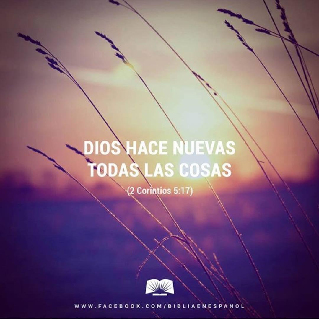 De modo que si alguno está en Cristo, ya es una nueva creación; atrás ha quedado lo viejo: ¡ahora ya todo es nuevo! - 2 Corintios 5:17