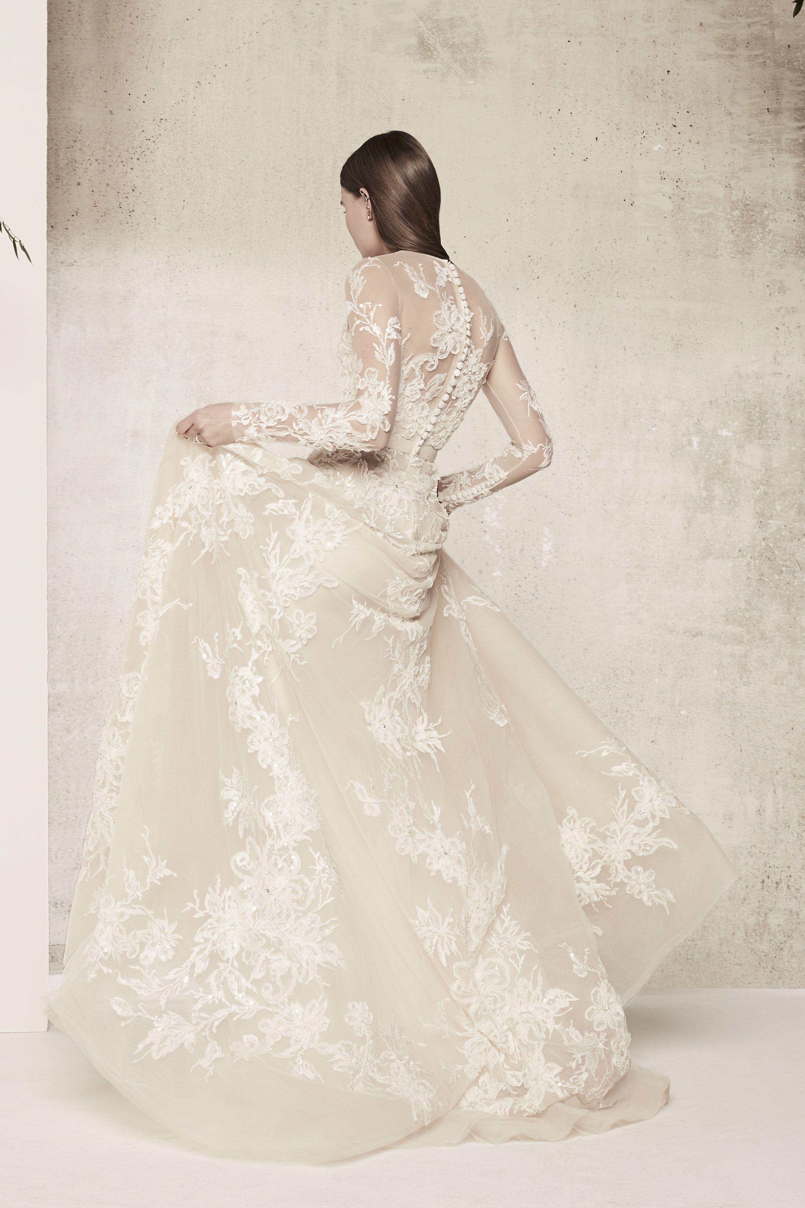 Elie Saab Bridal & Wedding Dresses Spring 2018 | Brides | les ...