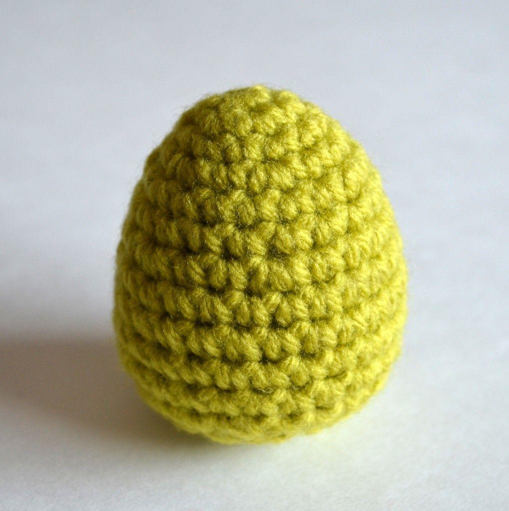 Crochet Eggs for Easter | Proceso, Fruta y Tejido