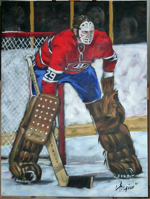 Hockey Painting Peinture Yahoo Canada Image Search Results